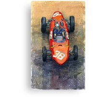 Ferrari Dino 156 1962 Monaco GP Canvas Print