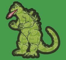 Godzilla / Gojira Kanji  Kids Tee