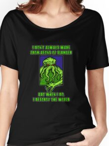 The Most Interesting Great Old One in the World Women's Relaxed Fit T-Shirt