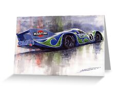 Porsche 917 Psychodelic  Greeting Card