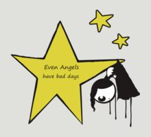 eVen Angels have bad dAys by Amanda  Cass