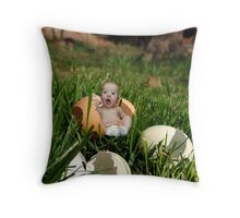Happy Easter from Adelyn Throw Pillow