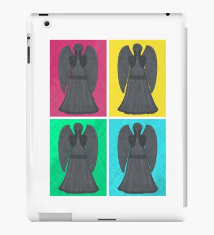 Weeping Angels Pop Art iPad Case/Skin