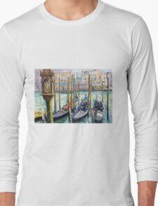 Italy Venice Lamp Long Sleeve T-Shirt