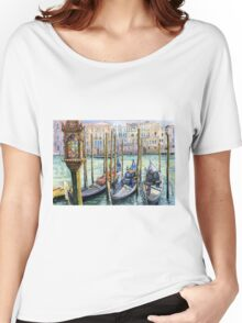 Italy Venice Lamp Women's Relaxed Fit T-Shirt