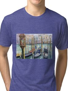 Italy Venice Lamp Tri-blend T-Shirt