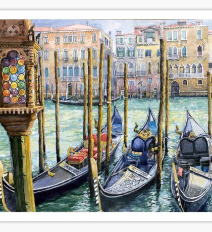 Italy Venice Lamp Sticker
