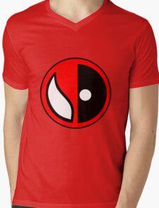 Spideypool Mens V-Neck T-Shirt