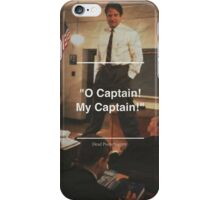 Dead Poet Society 3 iPhone Case/Skin
