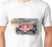 Ferrari  312T4 Gilles Villeneuve Monaco GP 1979 Unisex T-Shirt