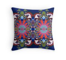 Winter Biscuits Throw Pillow