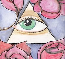 All-seeing eye by Marie-Pascale Lafreniere
