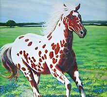 """""""The Red Appaloosa"""" by Charles  Wallis"""