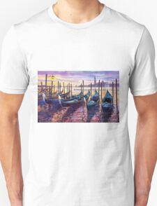 Italy Venice Early Mornings Unisex T-Shirt