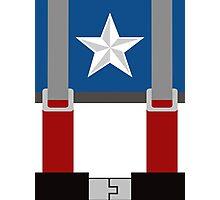 Captain America First Avenger - Minimalist Photographic Print