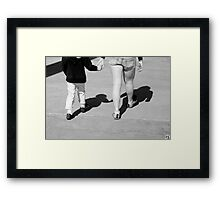 Everyone Needs a Hand to Hold Framed Print