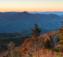 Blue Ridge Morning by Clay Townsend