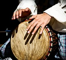 Djembe Drummer by SESE