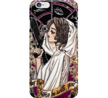 The force of the Princess Leia iPhone Case/Skin