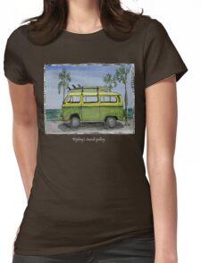 Vw art Womens Fitted T-Shirt