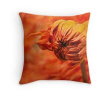 Fanning the flames Throw Pillow