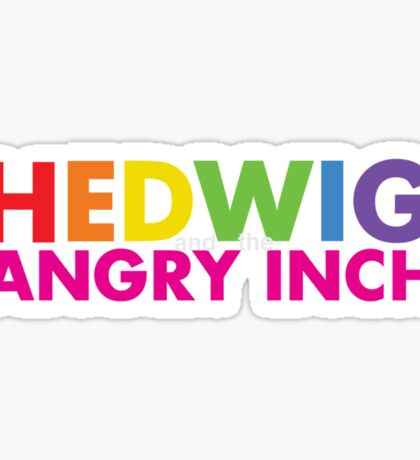 Hedwig and the Angry Inch Pride Sticker