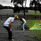 magic rusty farm bike by nickconlon
