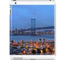 Ben Franklin Bridge Philadelphia iPad Case/Skin