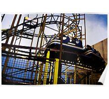 Barrys Amusements Roller coaster Poster