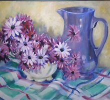 Jugs and flowers by Mrswillow