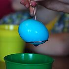 Blue Egg by Vonnie Murfin