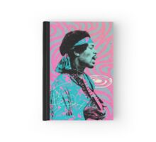 Jimi Hendrix - Psychedelic Sixties by Pepe Psyche Hardcover Journal