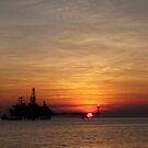 Sunset at Bayu-Udan by Peter Hall