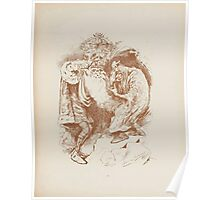Rhymes for the Young Folk William and Hellen Allingham art Kate Greenaway 0021 The Fairy King Poster