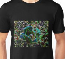 Wild Flower Colorful Tulip Abstract Unisex T-Shirt