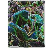 Wild Flower Colorful Tulip Abstract iPad Case/Skin