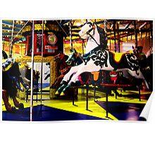 Barrys Amusements Carousel  Poster