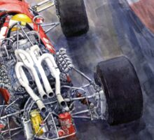 1967 Ferrari 312 F1 Sticker