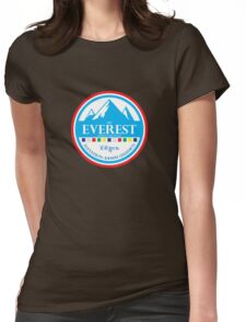 Mount Everest Womens Fitted T-Shirt