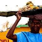Fruit Lady, Dominican Republic by mnbrown