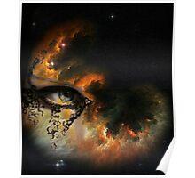 EYE OF FIRE NEBULA Poster