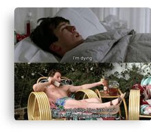 Ferris Bueller's Day Off 1 Canvas Print