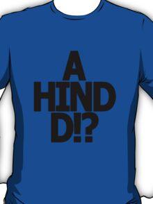 Metal Gear Solid - 'A Hind D!?' T-Shirt