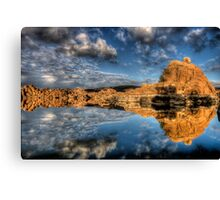 Sky vs Sky Canvas Print