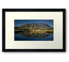 Roland Reflection Framed Print