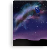 Time and Relative Dimension...In Space! Canvas Print