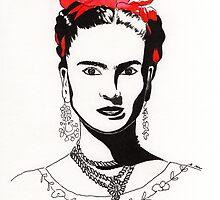 Frida Kahlo by ElisabetMarti