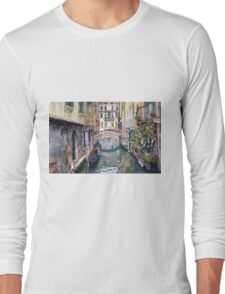 Italy Venice Trattoria Sempione Long Sleeve T-Shirt
