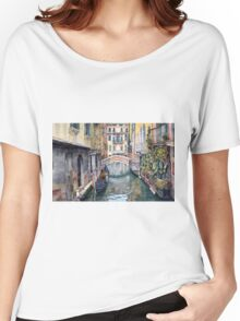 Italy Venice Trattoria Sempione Women's Relaxed Fit T-Shirt