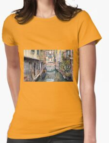 Italy Venice Trattoria Sempione Womens Fitted T-Shirt